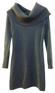 Tommy Hilfiger short dress Grey Green Cashmere Sweater on Tradesy
