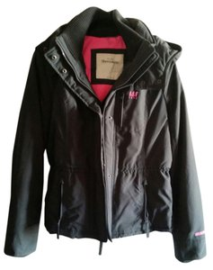 Abercrombie & Fitch Gray & Pink Jacket
