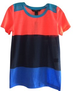 Marc by Marc Jacobs Top Atomic Blue multi