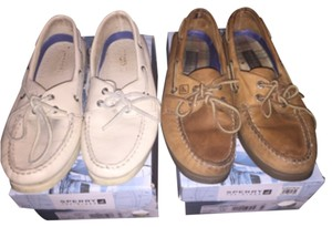 Sperry Camel/ice Flats