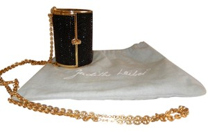 Judith Leiber Gold Hardware Gold Chain Vintage Miniaudiere Shoulder Bag