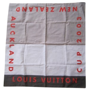 Louis Vuitton Louis Vuitton USED 2003 Louis Vuitton Cup Limited Edition Scarf