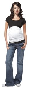 Old Navy Wide Leg Maternity Pleated Jeans