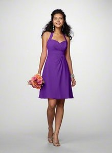 Alfred Angelo Viola/Purple Style 7172 Dress