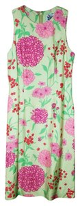 Lilly Pulitzer Daliahs Floral Preppy Palm Beach Lunch Wedding Rehearsal Dress