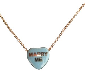 Brighton Marry me charm necklace