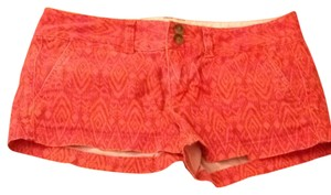 American Eagle Outfitters Shorts Pink and Orange