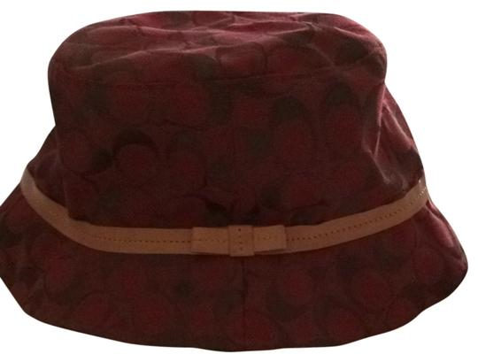 Coach Coach Monogram Bucket Hat