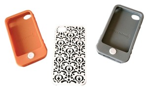Tech Candy for Nordstrom Tech Candy White Floral Orange and Gray iPhone Case Duo (4/4s)