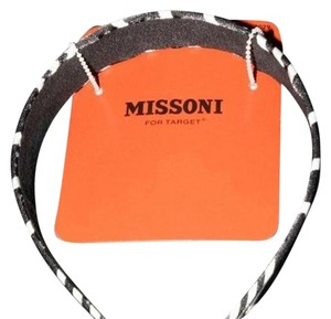 Missoni for Target Missoni For Target Black And White Zig Zag Headband