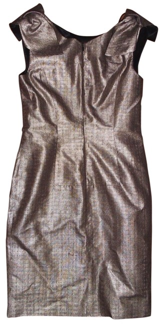 Hugo Boss Evening Gown Fully Lined Sleeveless Shimmering Exquisite Dress Image 2