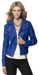 Cache New With Tags Motto Blue Motorcycle Jacket