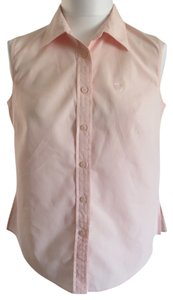 Anne Klein Button Down Shirt Pink