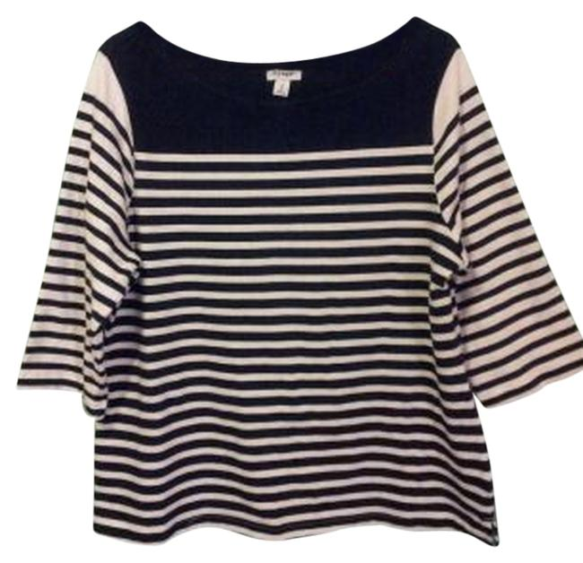 Old Navy Striped T Shirt black & white