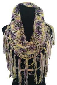 BCBGeneration New! BCBGeneration Single/Double Loop Knit Wool Boho Style Winter Scarf