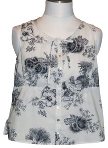 Laura Ashley Top White/Black