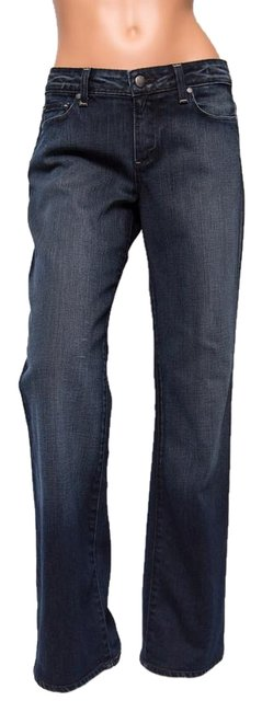Item - Blue Dark Rinse Melbourne Relaxed Fit Jeans Size 29 (6, M)