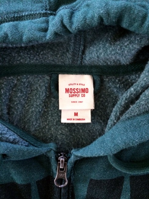 Mossimo Sweater Hooded Quote Target Jacket
