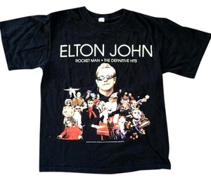Anvil Concert John Lennon 2008 T Shirt Black