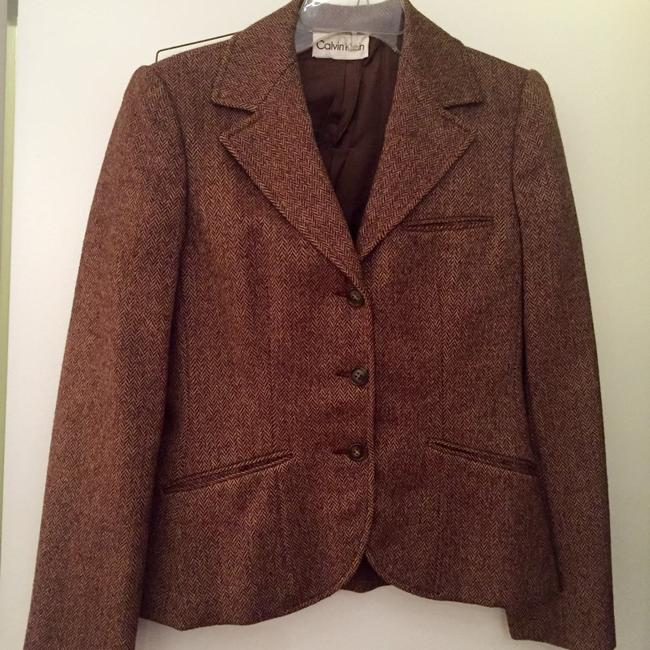 Calvin Klein Brown Blazer