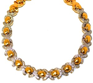 Italian Necklace Italian Choker Diamond Necklace