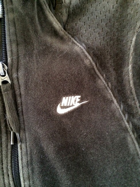 Nike Velour Zip-up Track