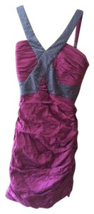 BCBGMAXAZRIA Bodycon Peridot Simson Taffeta Dance Dress