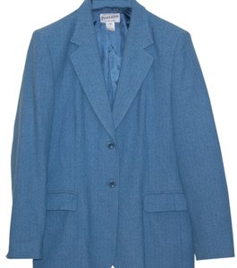 Pendleton Vintage Jacket Wool Blue Blazer