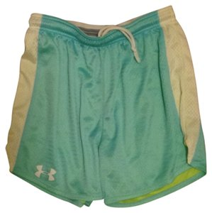 Under Armour Light blue and green Shorts