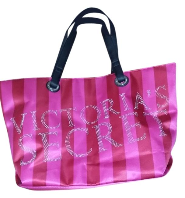 Item - Pink and Red Satin Tote