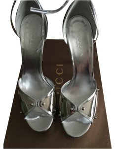 Gucci Silver/Mirrors Platforms