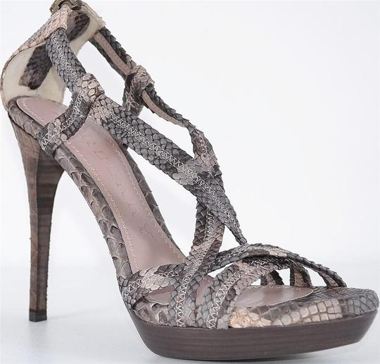 Burberry Heels Strappy Heels Multi-Color Sandals Image 1