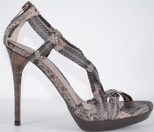 Burberry Heels Strappy Heels Multi-Color Sandals Image 10