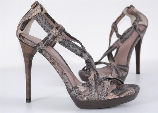 Burberry Heels Strappy Heels Multi-Color Sandals Image 3