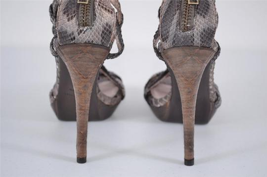 Burberry Heels Strappy Heels Multi-Color Sandals Image 4