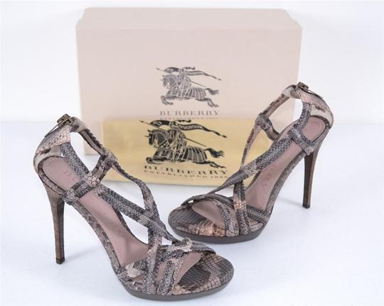 Burberry Heels Strappy Heels Multi-Color Sandals Image 6