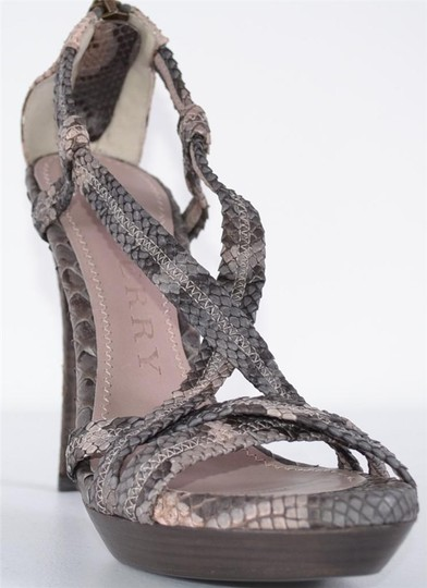Burberry Heels Strappy Heels Multi-Color Sandals Image 9
