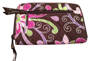 Vera Bradley Vera Bradley Floral Zip-Around Wallet