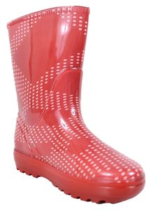 Burberry Children's Rain Red Boots