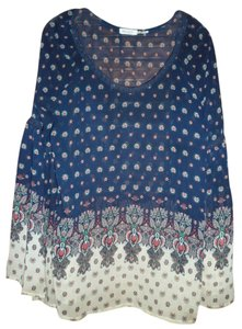 Blu Pepper Festival Boho Bell Sleeves Tunic