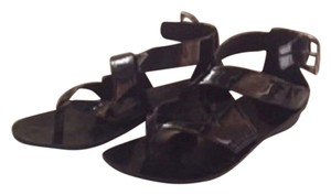 B. Makowsky Black Sandals