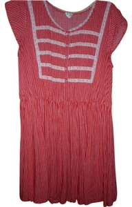 Free People short dress Red and White polka dot Vintage Rock-a-billy Pin-up on Tradesy