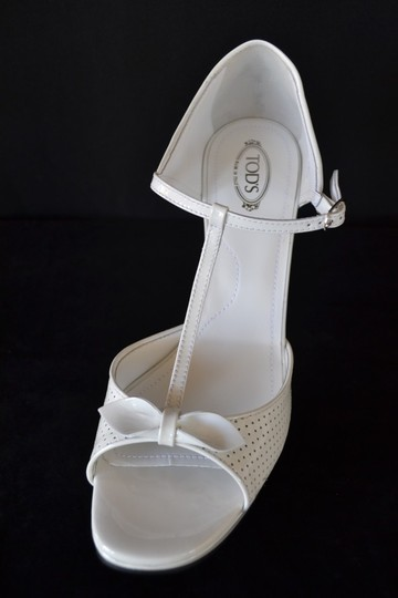 Tod's White Sandals Image 2