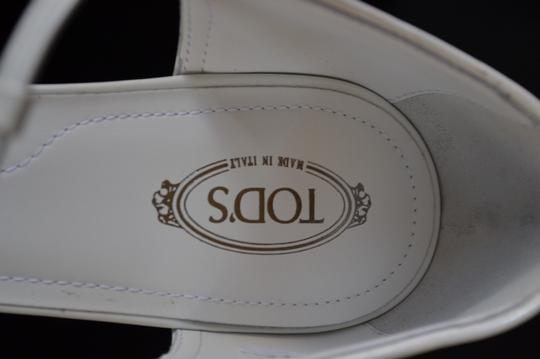 Tod's White Sandals Image 7