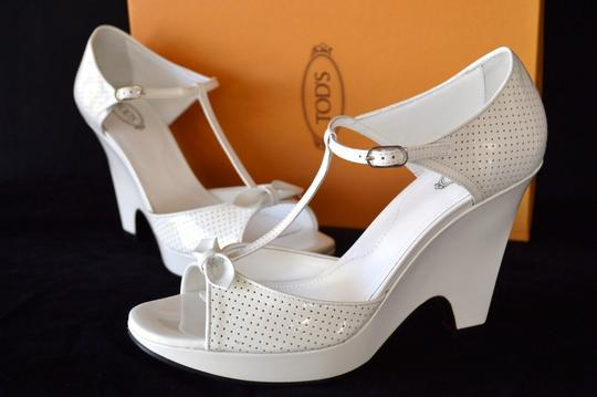 Tod's White Sandals Image 9