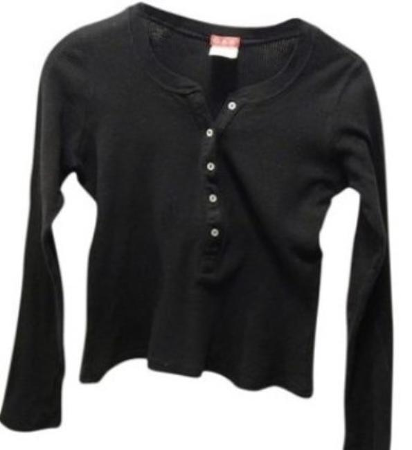 2 Tops in One Price Longsleeve Layered Front Buttoned Top