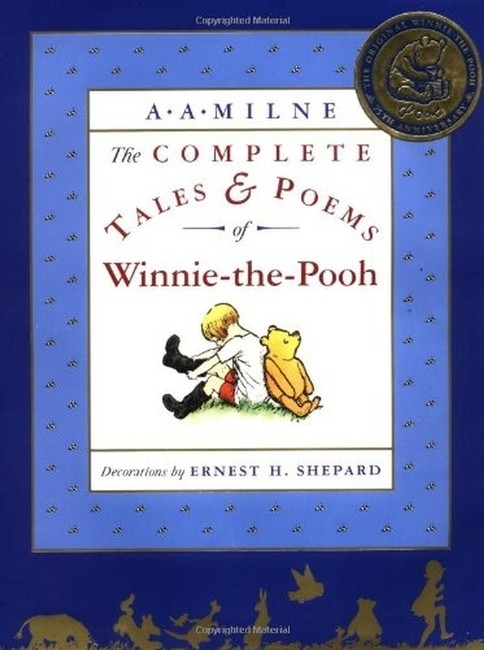 Multicolor The Complete Tales and Poems Of Winnie-the-pooh Hardcover Multicolor The Complete Tales and Poems Of Winnie-the-pooh Hardcover Image 1