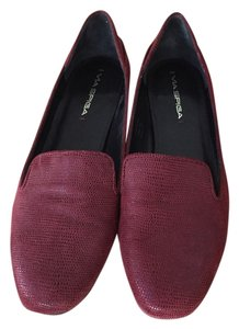 Via Spiga Loafers Maroon Flats
