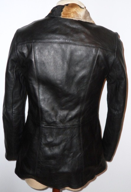 Other Black, Brown Leather Jacket