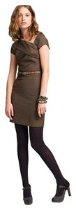 J.Crew short dress brown tone on Tradesy